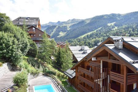 Location au ski Résidence Cristal - Méribel - Extérieur été