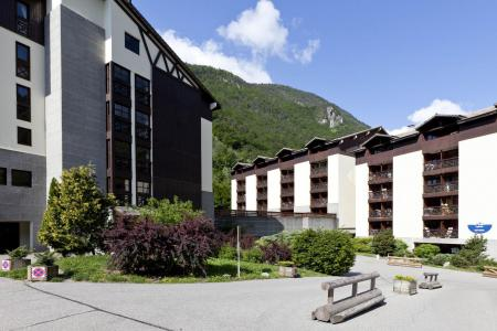Rent in ski resort 3 room apartment sleeping corner 8 people (508) - Résidence Cybèle BAT4 - Brides Les Bains - Summer outside