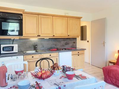 Holiday in mountain resort 2 room apartment 4 people (B1) - Résidence Dahlia - Saint Martin de Belleville - Kitchen