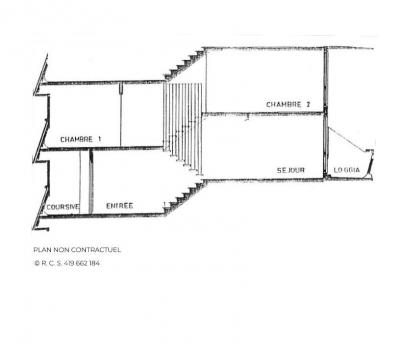 Vacances en montagne Appartement 3 pièces 8 personnes (628) - Résidence Danchet - Les Menuires - Plan
