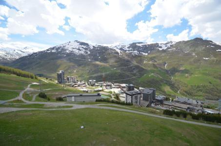 Vacances en montagne Appartement 2 pièces mezzanine 6 personnes (1029) - Résidence Danchet - Les Menuires - Extérieur été