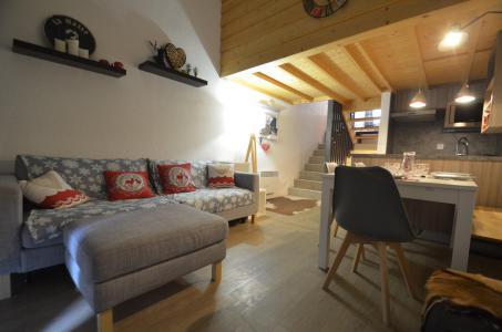 Vacances en montagne Appartement 2 pièces mezzanine 6 personnes (1029) - Résidence Danchet - Les Menuires - Séjour