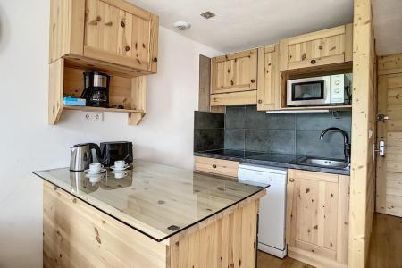 Vacances en montagne Appartement 2 pièces mezzanine 5 personnes (317) - Résidence de Caron - Les Menuires - Baignoire