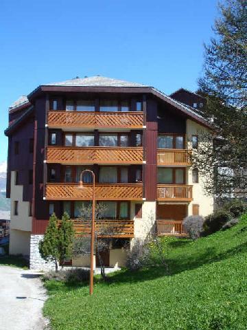 Location au ski Studio coin montagne 4 personnes (57) - Residence De L'aigle - Peisey-Vallandry - Extérieur été