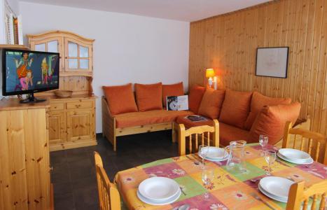 Vakantie in de bergen Appartement 2 kamers 4 personen (504) - Résidence de l'Olympic - Val Thorens - Eethoek