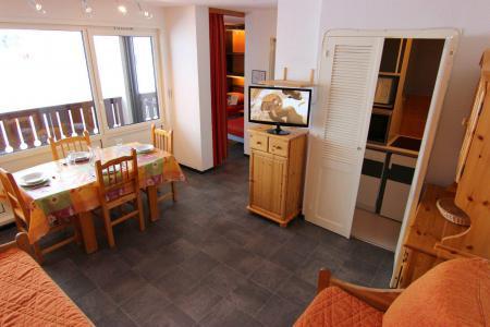 Vakantie in de bergen Appartement 2 kamers 4 personen (504) - Résidence de l'Olympic - Val Thorens - Woonkamer