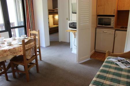 Vakantie in de bergen Appartement 2 kamers 4 personen (518) - Résidence de l'Olympic - Val Thorens - Woonkamer