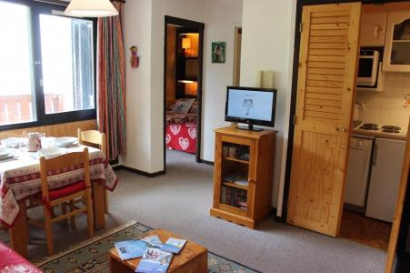Vakantie in de bergen Appartement 2 kamers 4 personen (611) - Résidence de l'Olympic - Val Thorens - Woonkamer