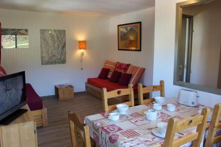 Vakantie in de bergen Appartement 2 kamers 5 personen (401) - Résidence de l'Olympic - Val Thorens - Woonkamer