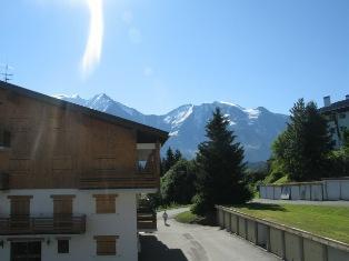 Location au ski Studio coin montagne 4 personnes (B02) - Residence De La Christaz - Les Collybies - Saint Gervais - Extérieur été