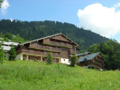 Vacances en montagne Résidence des Gentianes - Châtel - Extérieur été