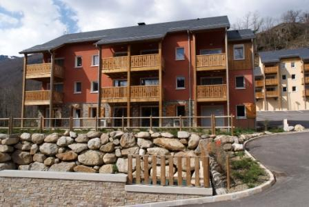 Location au ski Studio 2 personnes - Residence Domaine De La Vallee D'ax - Ax-Les-Thermes - Extérieur été