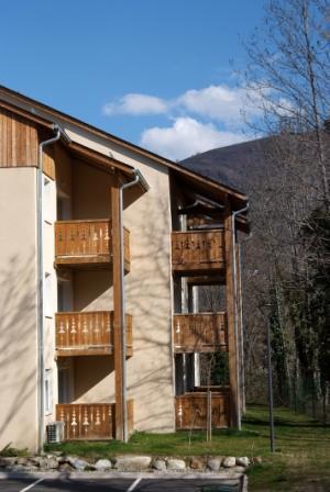 Location au ski Appartement 2 pièces cabine 6 personnes - Residence Domaine De La Vallee D'ax - Ax-Les-Thermes - Extérieur été