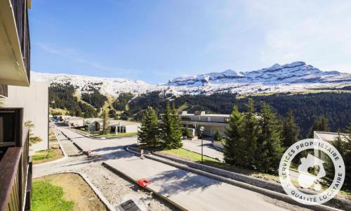 Wakacje w górach Studio 4 osoby (Confort 26m²-1) - Résidence Doris - Maeva Home - Flaine - Na zewnątrz latem