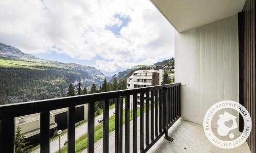 Wakacje w górach Studio kabina 4 osoby (Budget 26m²-4) - Résidence Doris - Maeva Particuliers - Flaine - Balkon