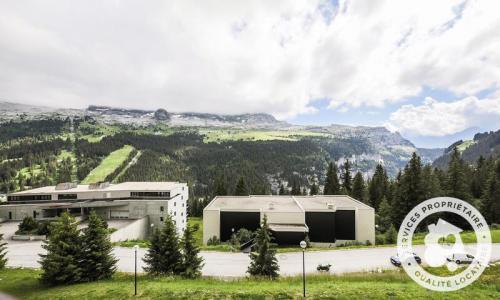 Wakacje w górach Studio kabina 4 osoby (Budget 26m²-4) - Résidence Doris - Maeva Particuliers - Flaine - Na zewnątrz latem