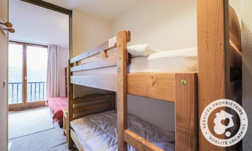 Wakacje w górach Studio kabina 4 osoby (Budget 26m²-4) - Résidence Doris - Maeva Particuliers - Flaine - Łóżkami piętrowymi