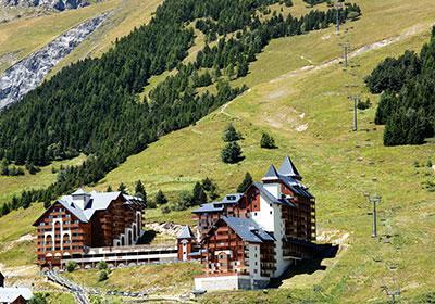 Location au ski Residence Du Soleil - Les 2 Alpes - Extérieur été
