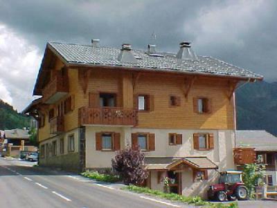 Rent in ski resort Résidence Echo des Montagnes - Châtel - Summer outside