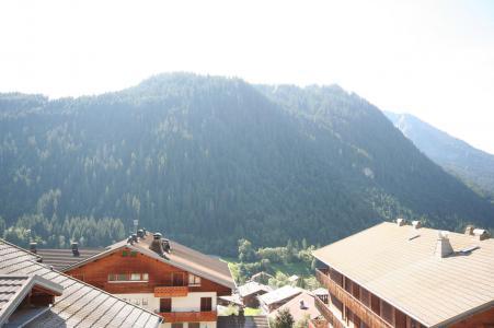 Rent in ski resort 3 room apartment 6 people (6) - Résidence Echo des Montagnes - Châtel - Summer outside