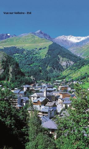 Location au ski Résidence Eden Val - Valloire - Extérieur été