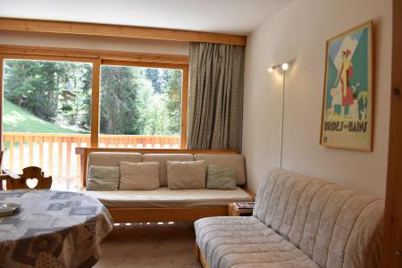 Holiday in mountain resort Studio sleeping corner 4 people - Résidence Eperonnelles - Méribel - Seat bed- pull out bed