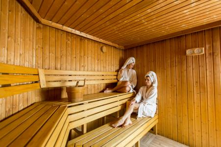 Vacances en montagne Résidence et Spa Vallorcine Mont Blanc - Vallorcine - Sauna