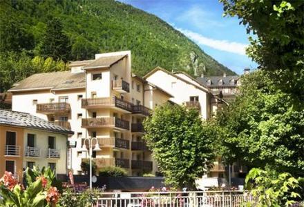 Location Brides Les Bains : Résidence Eureca été