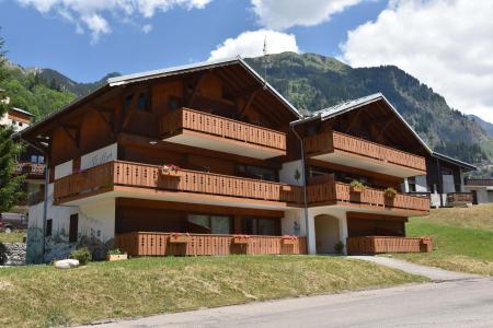 Rent in ski resort Résidence Flor'Alpes - Champagny-en-Vanoise - Summer outside