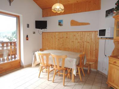 Vacances en montagne Appartement 3 pièces mezzanine 6 personnes - Résidence Forsythia - Châtel - Séjour