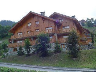 Location au ski Residence Frenes - Méribel - Extérieur été