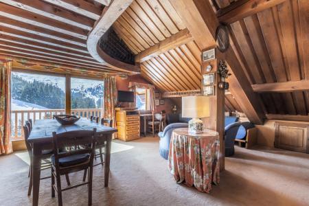 Holiday in mountain resort 3 room mezzanine apartment 5 people (14) - Résidence Gelinotte - Méribel - Living room