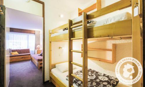 Wakacje w górach Studio 4 osoby (Confort 24m²) - Résidence Gémeaux - Maeva Home - Flaine - Łóżkami piętrowymi