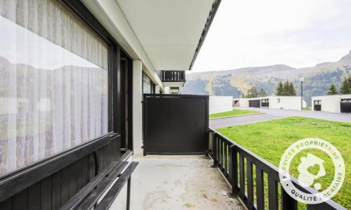 Wakacje w górach Studio 4 osoby (Confort 24m²) - Résidence Gémeaux - Maeva Home - Flaine - Na zewnątrz latem