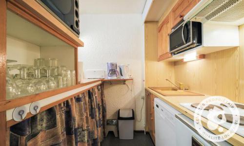 Wakacje w górach Apartament 2 pokojowy 6 osób (Confort 41m²-2) - Résidence Gémeaux - Maeva Home - Flaine - Aneks kuchenny