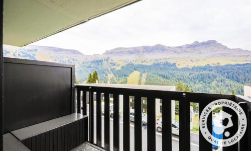 Wakacje w górach Studio 4 osoby (Confort 26m²-2) - Résidence Gémeaux - Maeva Home - Flaine - Na zewnątrz latem