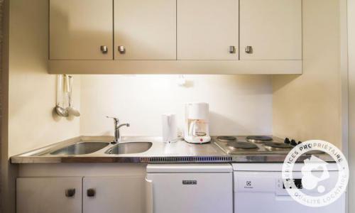 Wakacje w górach Studio 4 osoby (Confort 26m²-2) - Résidence Gémeaux - Maeva Home - Flaine - Aneks kuchenny