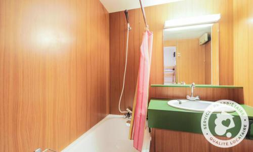 Wakacje w górach Apartament 2 pokojowy z alkową 6 osób (Confort 41m²-2) - Résidence Gémeaux - Maeva Particuliers - Flaine - Wanną