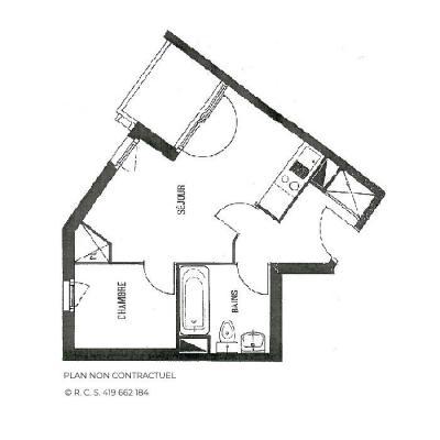 Vacances en montagne Appartement 2 pièces 4 personnes (306) - Résidence Gentianes - Les Menuires