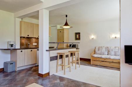 Vacances en montagne Appartement 3 pièces 8 personnes (403) - Résidence Grand Bois - La Tania - Séjour