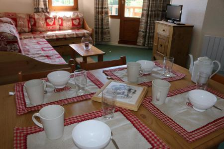 Vacances en montagne Appartement 3 pièces cabine 6 personnes (606) - Résidence Grand Bois - La Tania - Séjour