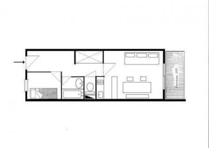 Vacances en montagne Appartement 2 pièces 5 personnes (A17) - Résidence Grand Dou - Méribel-Mottaret - Plan
