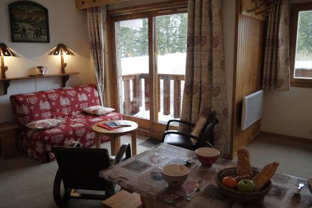 Vacances en montagne Appartement 2 pièces 6 personnes (A02) - Résidence Grand Dou - Méribel-Mottaret - Séjour