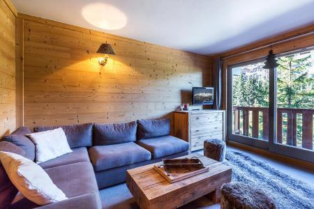 Vacances en montagne Appartement 2 pièces 6 personnes (A07) - Résidence Grand Dou - Méribel-Mottaret - Séjour