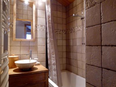 Vacances en montagne Appartement 3 pièces 6 personnes (A25) - Résidence Grand Dou - Méribel-Mottaret - Salle de bains