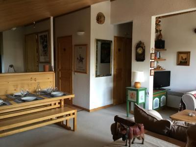 Vacances en montagne Appartement 3 pièces 6 personnes (A25) - Résidence Grand Dou - Méribel-Mottaret - Table