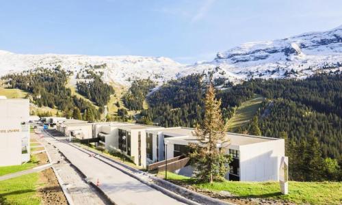 Wakacje w górach Apartament 3 pokojowy 8 osób (Confort 60m²-2) - Résidence Grand Massif - Maeva Home - Flaine - Na zewnątrz latem