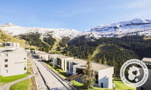 Wakacje w górach Apartament 3 pokojowy 8 osób (Sélection 60m²-4) - Résidence Grand Massif - Maeva Home - Flaine - Na zewnątrz latem