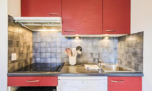 Wakacje w górach Apartament 3 pokojowy 8 osób (Confort 60m²-2) - Résidence Grand Massif - Maeva Particuliers - Flaine - Aneks kuchenny