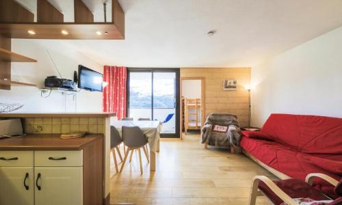 Wakacje w górach Apartament 3 pokojowy kabina 8 osób (Sélection 60m²-4) - Résidence Grand Massif - Maeva Particuliers - Flaine - Pokój gościnny